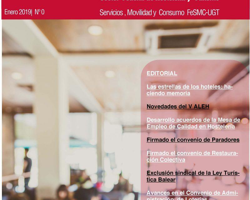 Accede a leer el número 0 de Redacción Sindical del sector de Hostelería y Turismo