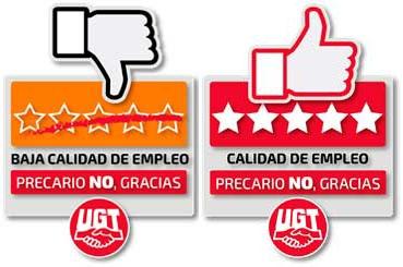 UGT otorgará un sello de calidad o de denuncia contra la explotación laboral