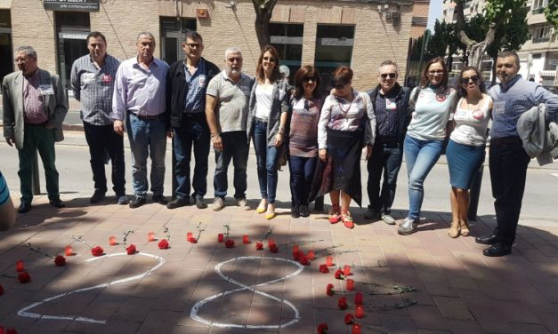 FeSMC UGT Murcia participa en los actos del Día Internacional de la Seguridad y Salud en el Trabajo