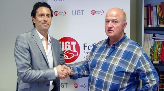 UGT y Futbolistas ON apuestan conjuntamente por dignificar la profesión de futbolista en categorías inferiores