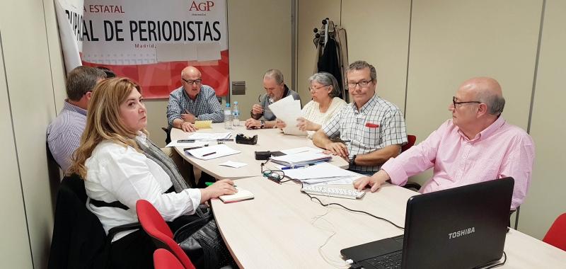 V Asamblea Estatal de la Agrupación de Periodistas de UGT