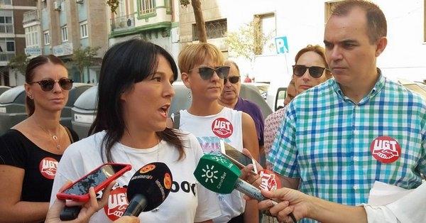 Los trabajadores de las empresas textiles de Almería van a la huelga el sábado