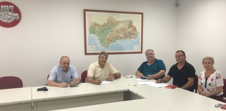 UGT firma el Convenio del Sector de Auto-taxi de Andalucía 2018-2020