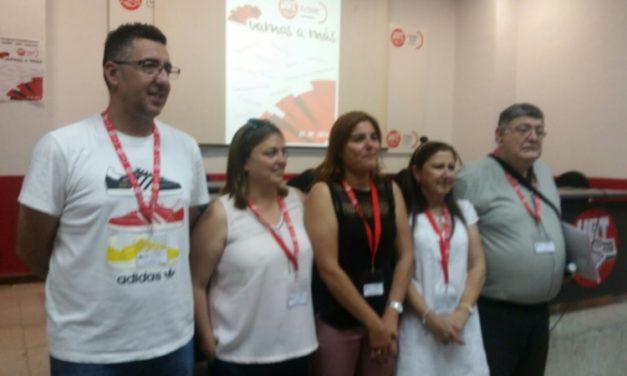 Monserrat Citores Pobes lidera la Comisión Ejecutiva de FeSMC-UGT de Palencia con el 100% del Congreso
