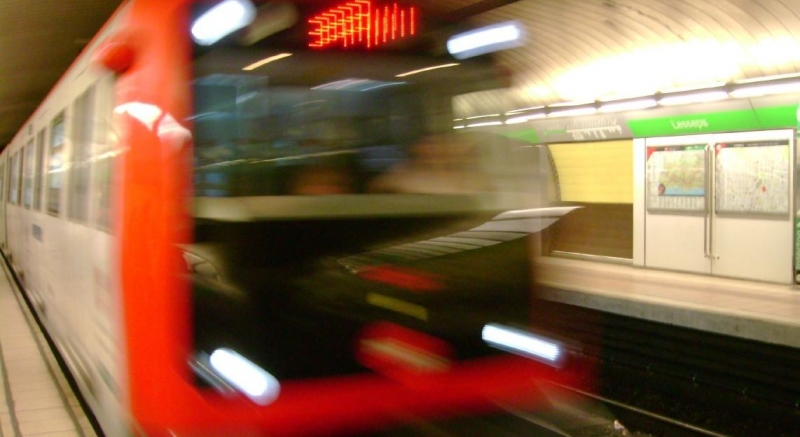 UGT condena la agresión sufrida por un vigilante de seguridad en el metro de Barcelona