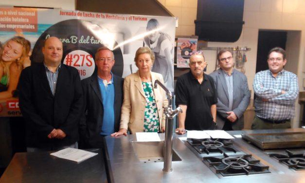 Las asociaciones profesionales apoyan las movilizaciones de los sindicatos CCOO y UGT para el Día Mundial del Turismo