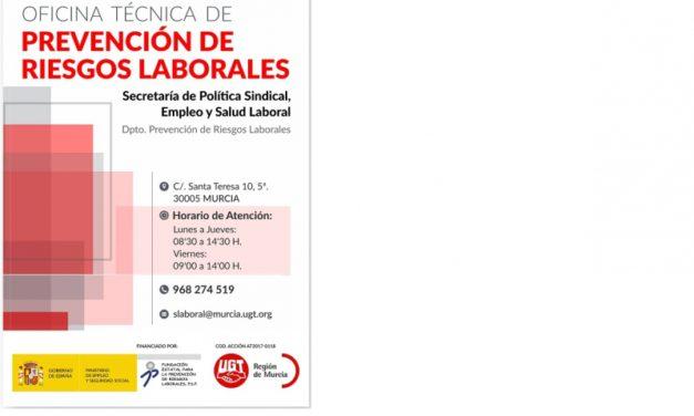 Oficina Técnica de Prevención de Riesgos Laborales de UGT FeSMC