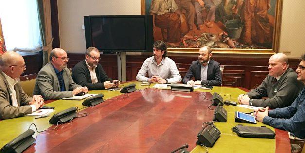 UGT se reúne con representantes del grupo parlamentario de Ciudadanos