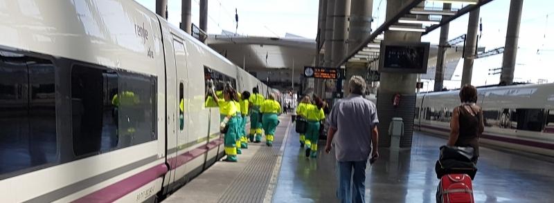 UGT interpone conflicto colectivo por la subrogación en las contratas ferroviarias