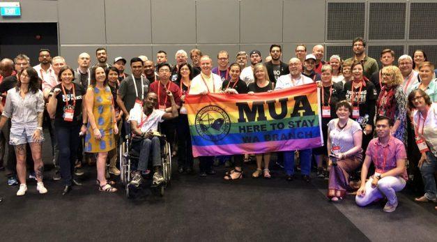 El 44º Congreso de la internacional sindical del transporte, ITF, aprueba una resolución a favor de los derechos del colectivo laboral  LGBTQI