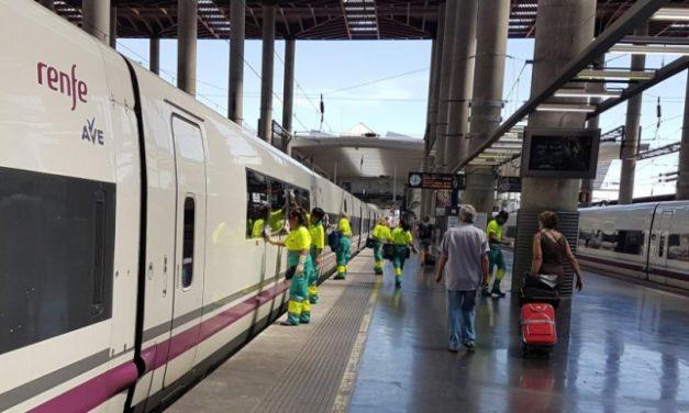 Cerrado el plazo de presentación de ofertas en el concurso de limpieza de RENFE