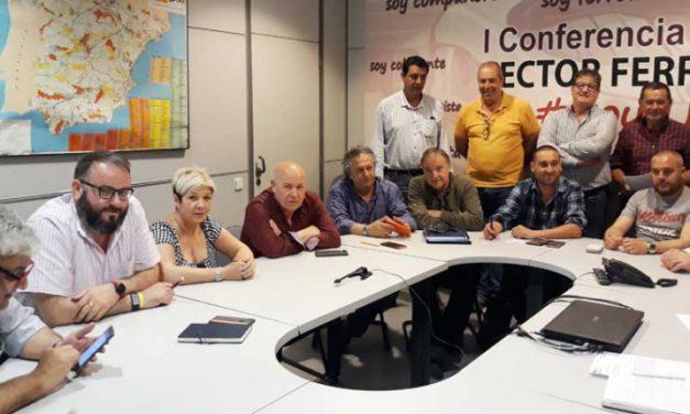 Reunión de trabajo entre la Sª de Acción Sindical y el Sindicato Ferroviario de FeSMC-UGT