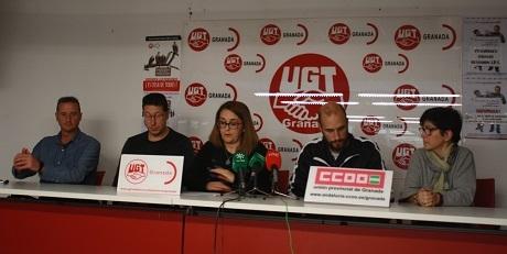 El Comité de Empresa de Cetursa-Hostelería convoca paros en Granada