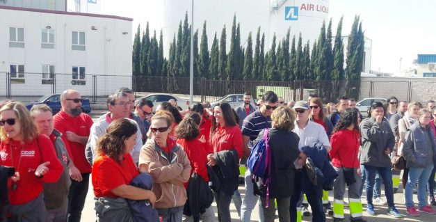 Tras cuatro días de paros y huelgas, se llega a un acuerdo sobre pluses entre el Comité y la empresa Logista Libros de Guadalajara