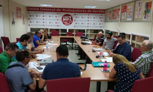 Firmado el Convenio de comercio de alimentación de Sevilla