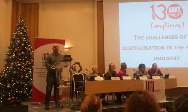 UGT participa en Varsovia en una Conferencia sobre los desafíos de la digitalización en la industria de servicios