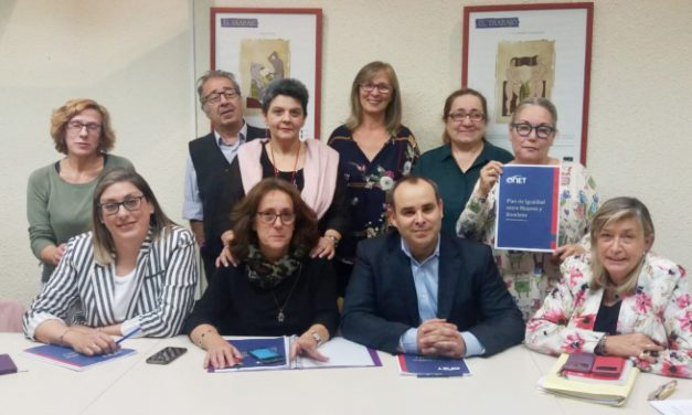 La empresa Onet y los sindicatos UGT y CCOO firman el plan de igualdad de esta compañía