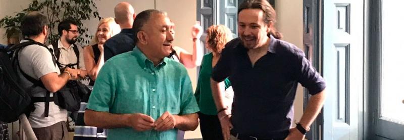 UGT y Podemos acuerdan abordar políticas que mejoren los derechos de los trabajadores