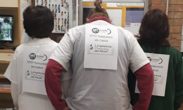 Concentraciones de protesta por el impago de salarios a las trabajadoras de Limpiezas Raspeig y Netalia