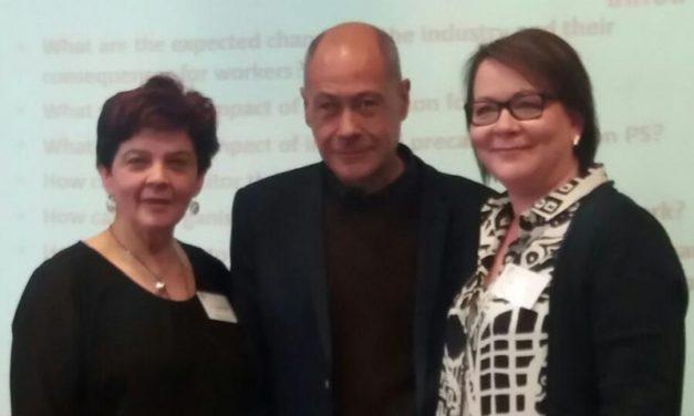 Los Sindicatos Sectoriales de Limpieza y Seguridad de UGT  participan en un encuentro con sindicatos europeos