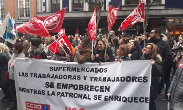 Acuerdo en el SASEC de subida salarial y se continua negociando el resto del convenio de supermercados de Asturias