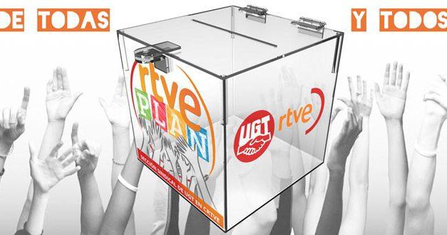 UGT presenta el documento definitivo de su Plan Estratégico para la Corporación RTVE