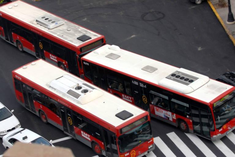 El comité de empresa de EMT Valencia convoca paros por el bloqueo en la negociación de las jubilaciones