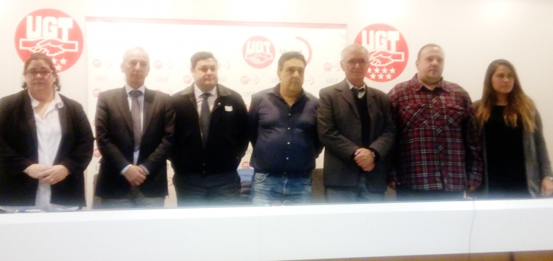 UGT defiende el derecho al trabajo de los conductores VTC y rechaza los actos violentos
