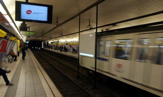 Seguimiento del 90% en la segunda jornada de huelga en el Metro