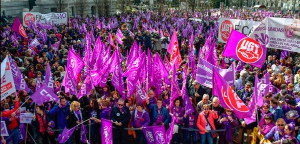El #8M está representando otro paso adelante en la lucha por la igualdad