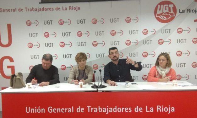 UGT se reúne con sus delegadas y delegados del sector de limpieza y seguridad en La Rioja