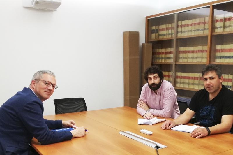 UGT y Mobilidade analizan el nuevo plan en Tranvías de Ferrol