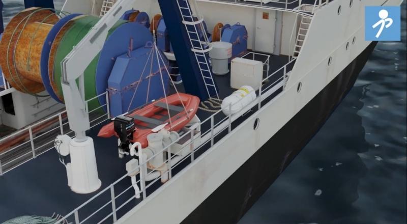 """Videos finales de la acción """"Fomento de la prevención de riesgos laborales en tripulantes de buques pesqueros"""" (ES2017-0099)"""