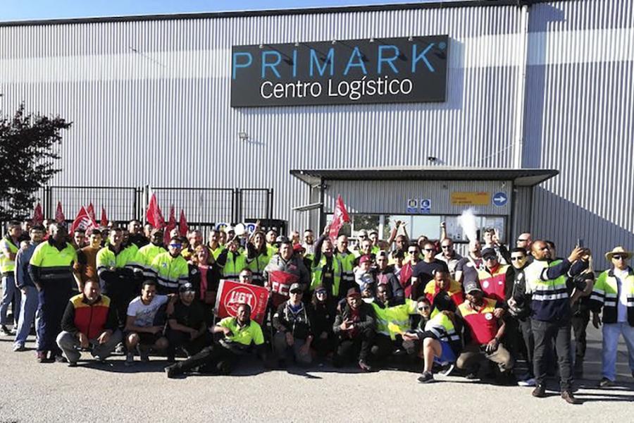 Se reactiva la huelga en DHL Primark todos los sábados de forma indefinida
