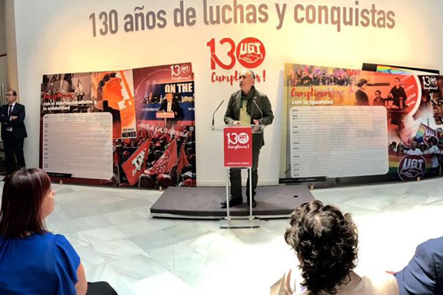 130 años del movimiento obrero visto por UGT y por Gallego&Rey