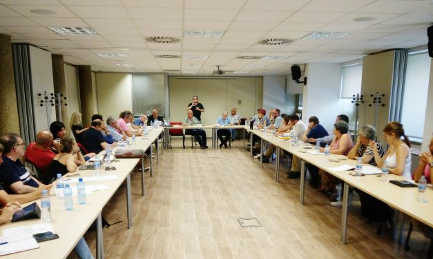 Sindicatos, sectores y secciones sindicales debaten sobre el hecho sectorial en FeSMC-UGT