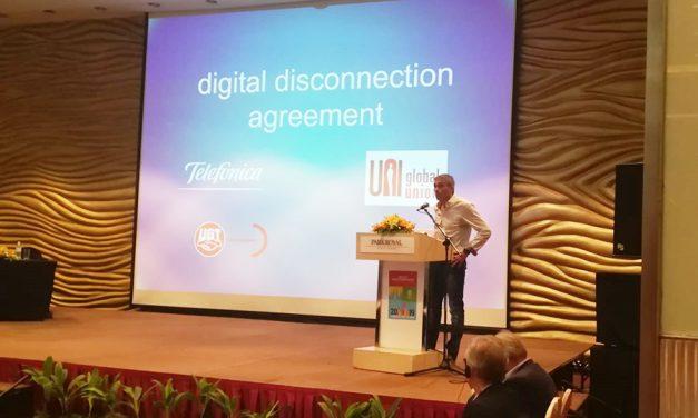 "Conferencia Mundial 2019 de UNI Global ICTS ""Conectar para vencer"""
