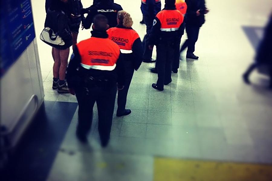 Nueva agresión a vigilantes de seguridad en el Metro de Madrid