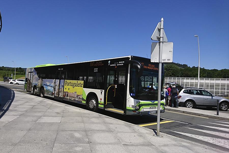 UGT denuncia los crecientes altercados y continuas agresiones en los autobuses BLB de Bizkaibus