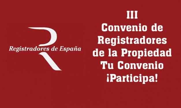 Solo APR y CSIF firman un preacuerdo restrictivo del convenio de registradores de la propiedad