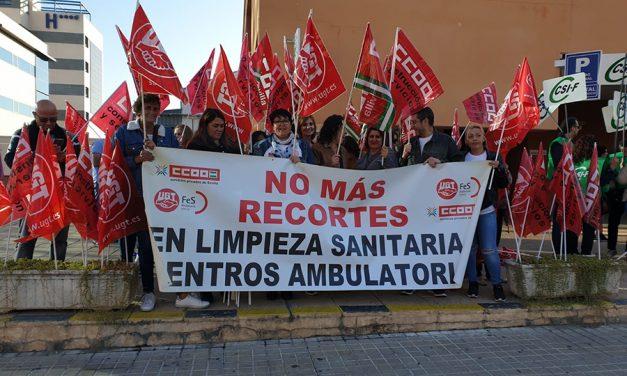 No a la bajada temeraria del Concurso Público de la Plataforma sanitaria de Sevilla