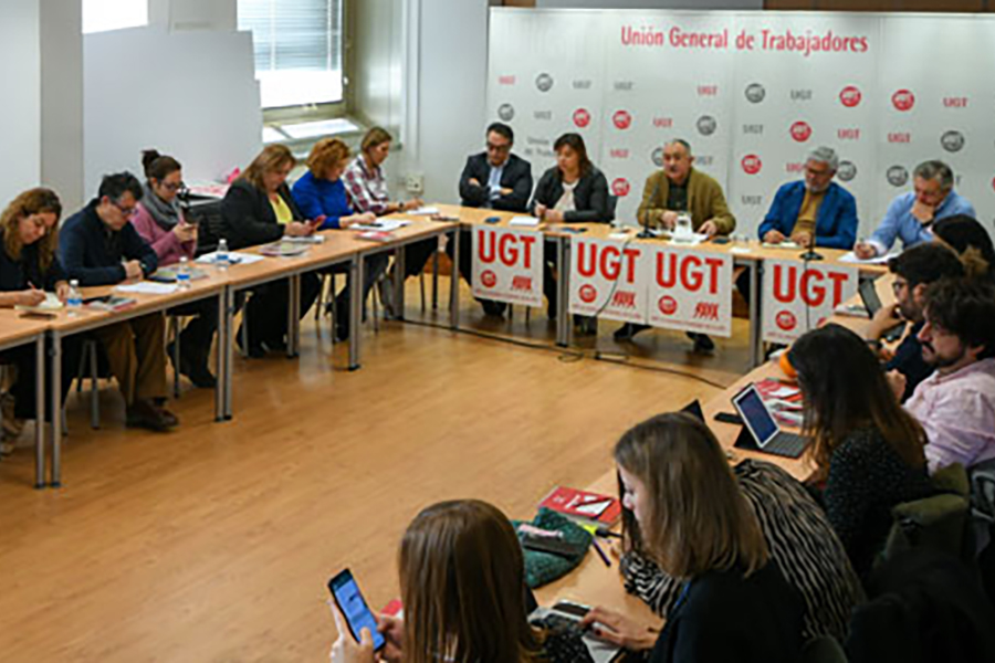 UGT quiere formar parte del cambio y reclama Diálogo Social