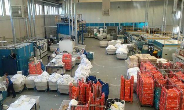 La lavandería industrial ELIS interrumpe su ERTE y reanudará su actividad este jueves