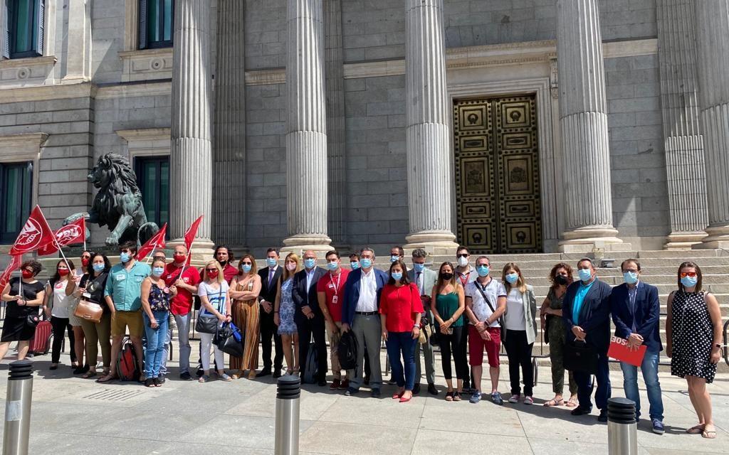 Los despidos en Digitex llegan hasta el Congreso de los Diputados