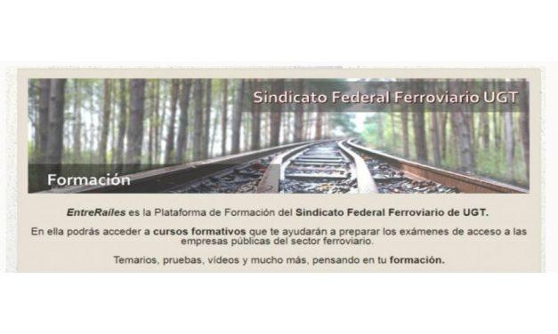 Plataforma 'EntreRaíles'   UGT inicia el curso formativo para la preparación de la convocatoria de OCEN2 para los CGO