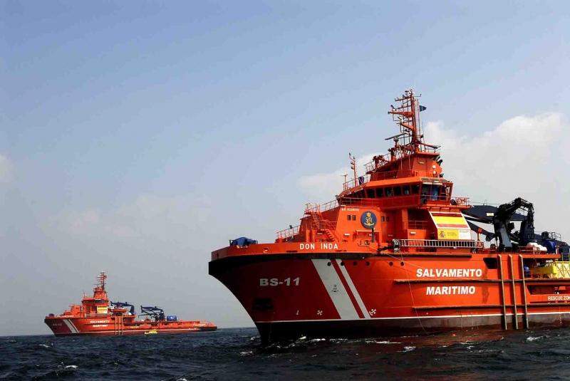 UGT denuncia la falta de coordinación en las operaciones de salvamento marítimo