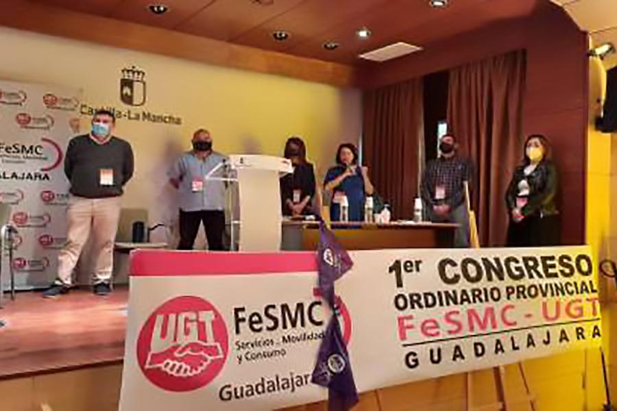 Crescencio Sánchez, reelegido Secretario General de FeSMC-UGT en Guadalajara