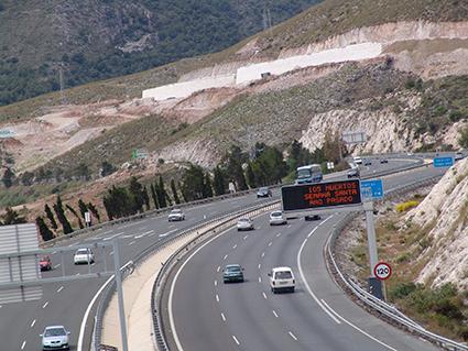 El sector de autopistas afronta la desaparición de más de 1.000 puestos de trabajo