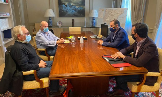 El ministro Ábalos y los sindicatos UGT y CCOO comparten el papel estratégico de los transportes en la reconstrucción económica y social de España