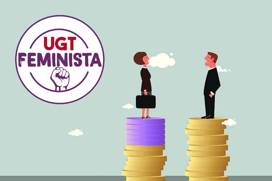 22 de febrero: las cifras de la brecha salarial en los sectores de FeSMC-UGT